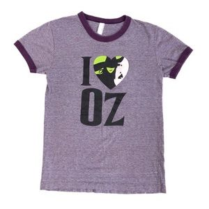 American Apparel I love Oz Wicked Tee 💜